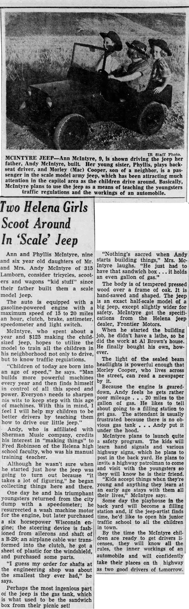 1953-08-16-the-independent-record-helena-MT-girls-and-toy-jeep-lores