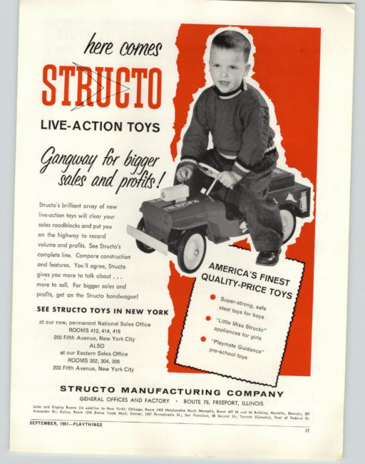 1961-09-playthings-ad-structo-fire-jeep