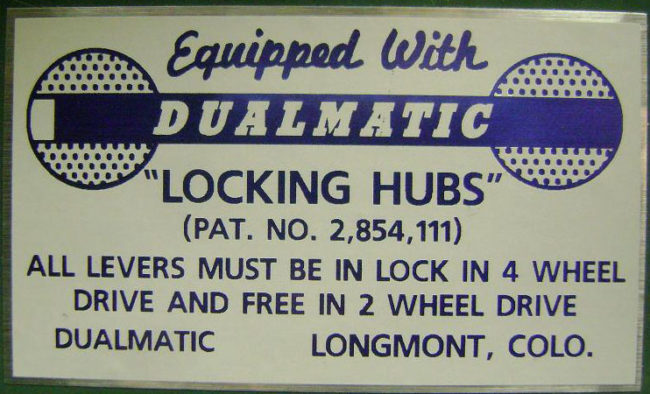 dualmatic-hub-sticker