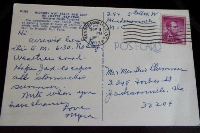 tour-jeep-hickory-nut-falls-chimney-rock-nc-postcard4