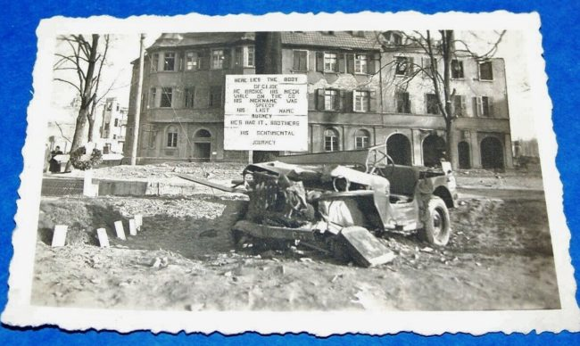 wwii-jeep-wrecked-sign