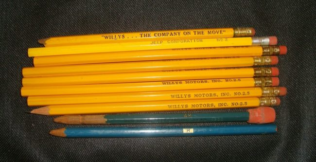 pencils-willys-overland