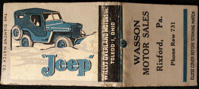 wasson-motorsales-matchbook