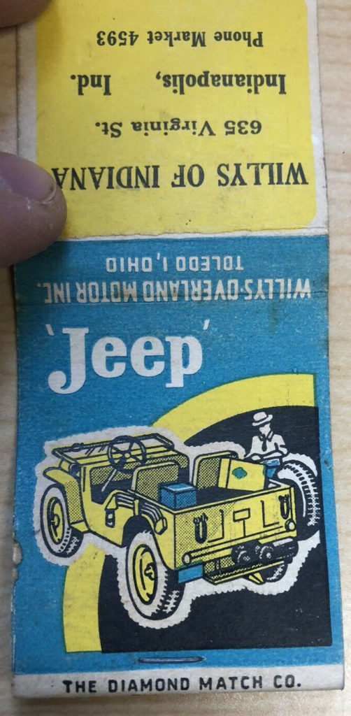 willys-of-indiana-matchbook-cover1