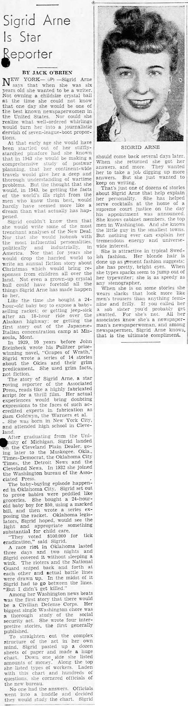 1943-11-07-battle-creek-enquirer-sigrid-arne-star-reporter-lores