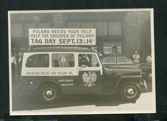 1953-poland-relief-wagon