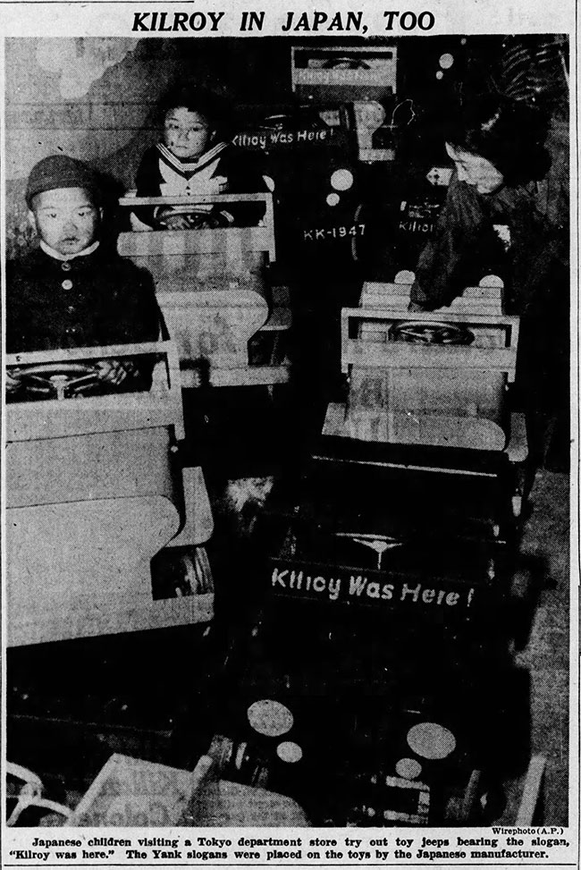 1947-03-31-desmoines-tribune-kilroy-in-japan-toy-jeeps-lores