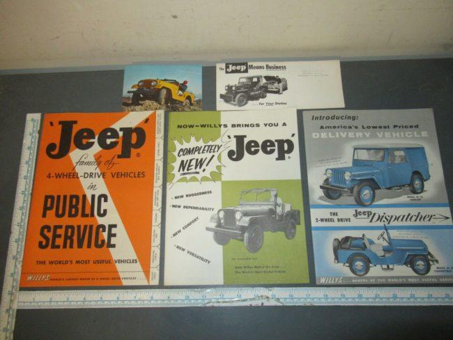 1954-1956-brochures