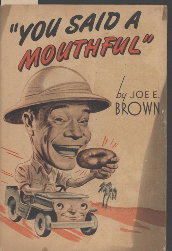1944-01-joe-brown-you-said-a-mouthful-book