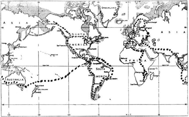 1959-derek-linton-safari-map-burlington-ky
