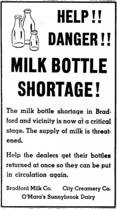 1947-01-04-bradford-era-milk-bottle-shortage